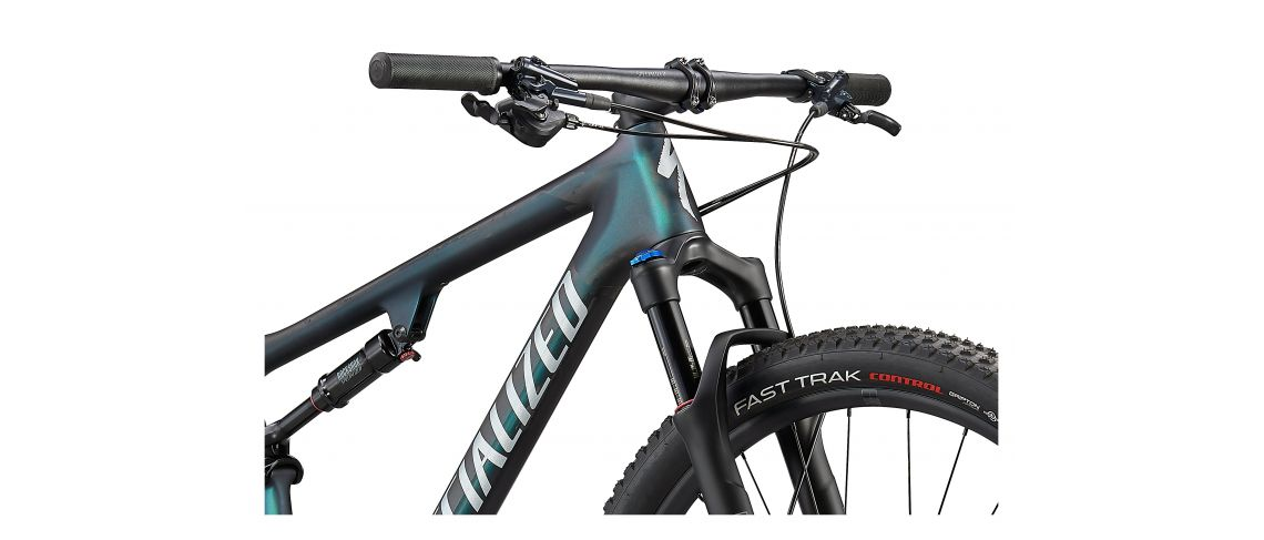 Epic Comp Carbon 29 XC Specialized 2021 Satin Carbon/Oil Chamaleon/Flake Silver