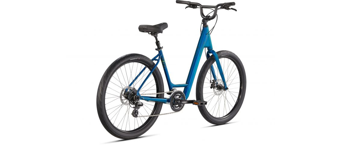 Roll Sport Low Entry Specialized 2021 Gloss Teal Tint / Hyper Green / Satin Black Reflective