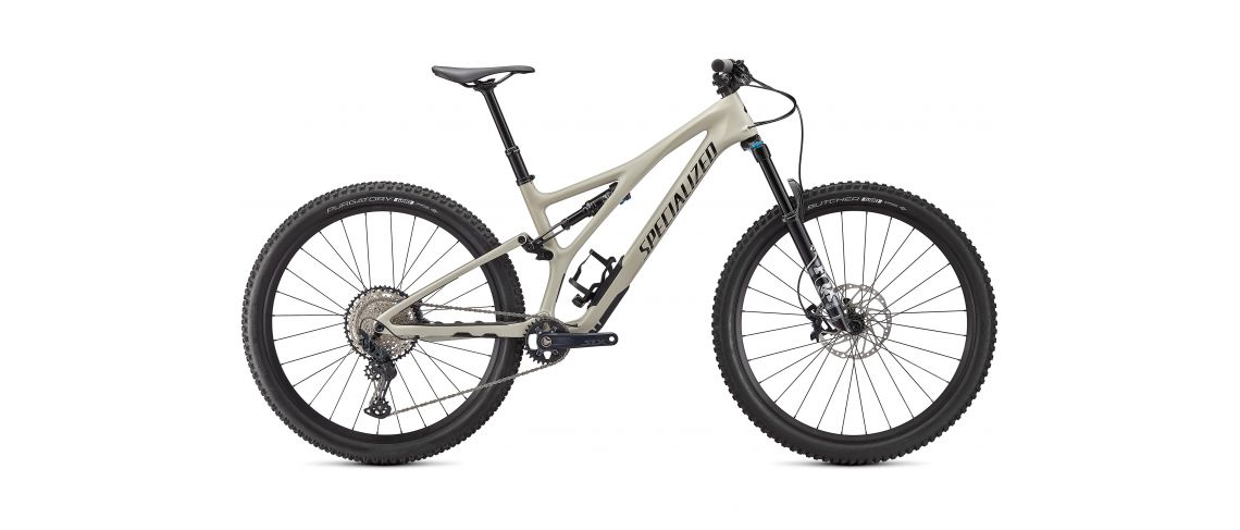 Stumpjumper Comp Specialized 2021 Gloss White Mountains / Black