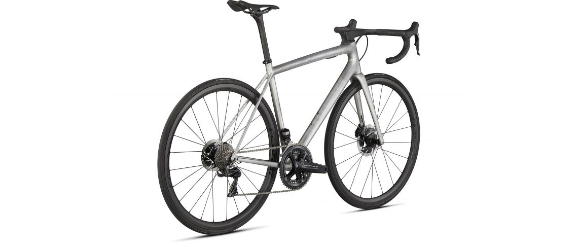 Aethos S-Works Founders Edition Specialized Satin Brushed Liquid Silver/Holographic